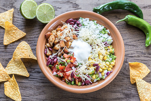 Mexicali Chicken Salad
